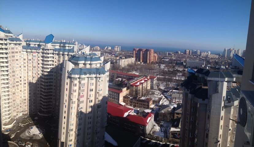 The view from my window on 22nd floor)