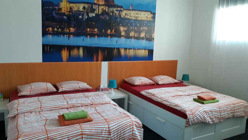 Spacious room in central Prague