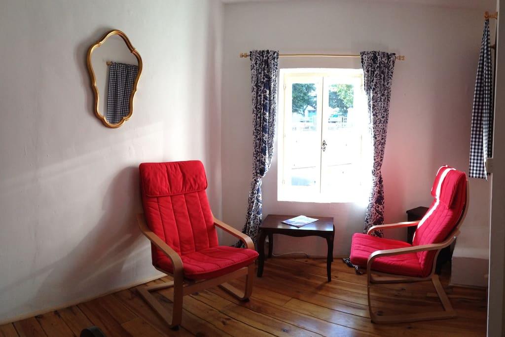 Top floor - the cool bedroom