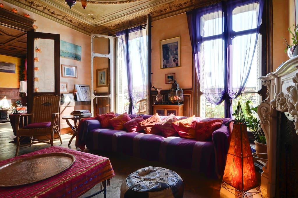 chambre d 39 h te bnb centre ville appartements louer marseille provence alpes c te d 39 azur. Black Bedroom Furniture Sets. Home Design Ideas