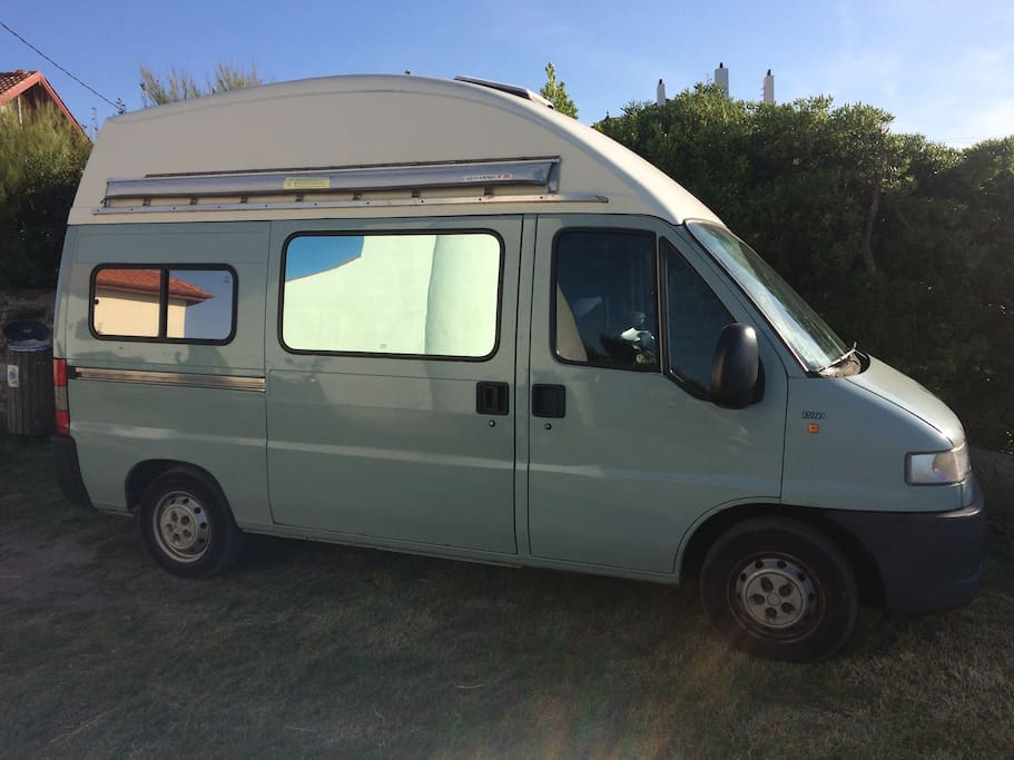 "Fiat Ducato 1.9 TD Camper Van ""JONI"" - low milage and low consumption"