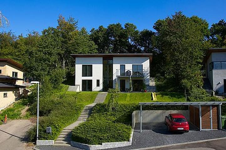 Very modern house in great nature - Brabrand - Villa