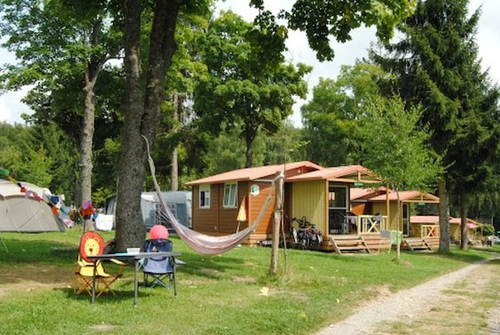 5pers chalet at camping Luxembourg - Larochette
