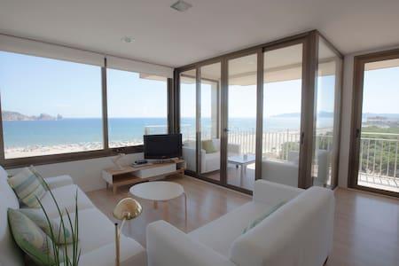 Magnífico apartamento en primera línea de mar