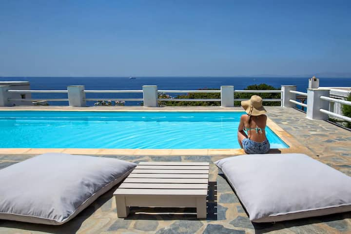 Deluxe Double with Panoramic Sea View in Hotel