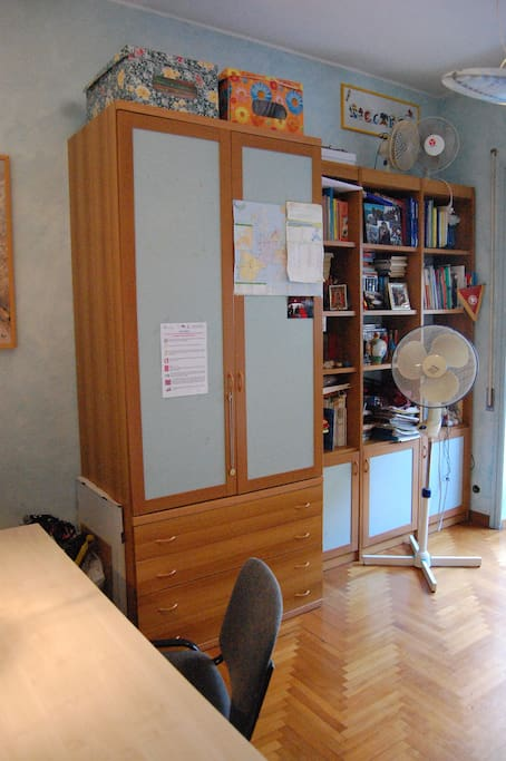 Large,airy  private room Rome centr