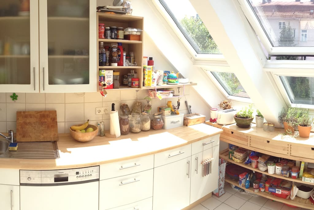 Our sunny kitchen
