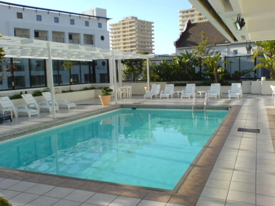 Swimming Pool in your holiday stay building