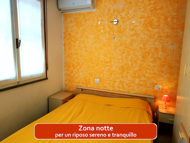 Comfortable apartment 2 minutes from the beach