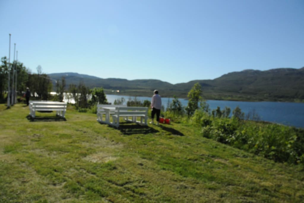 Sandnes fjord camping 1 small cabin for 2 persons chalet for Cabine vicino a ohiopyle pa