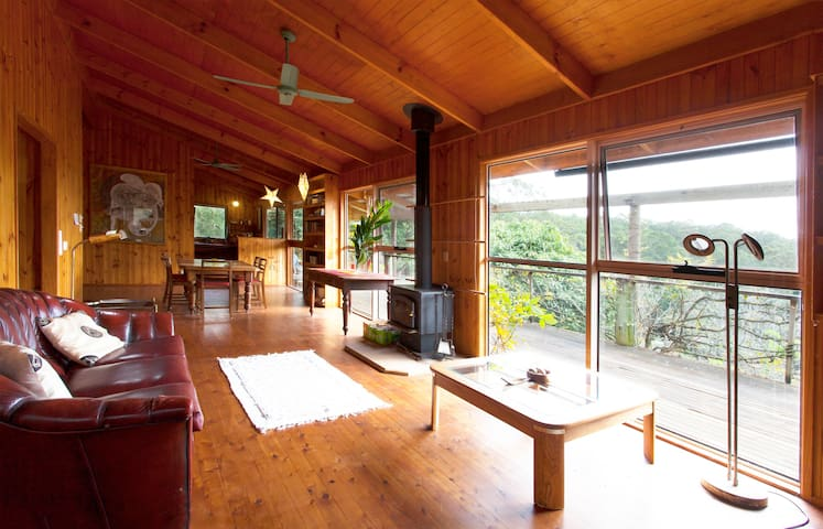 Organic Farm Piano House Rainforest - Ringtail Creek - Hus