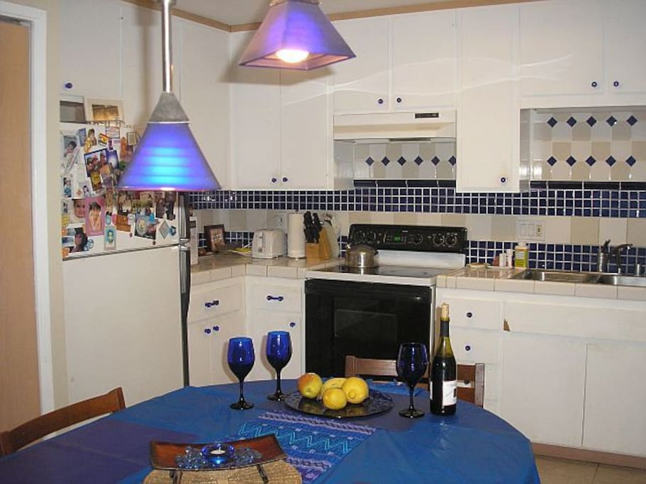 Fully Equipped Kitchen - Cook and Dine Anytime