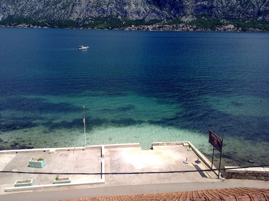 sea view to Kotor bay