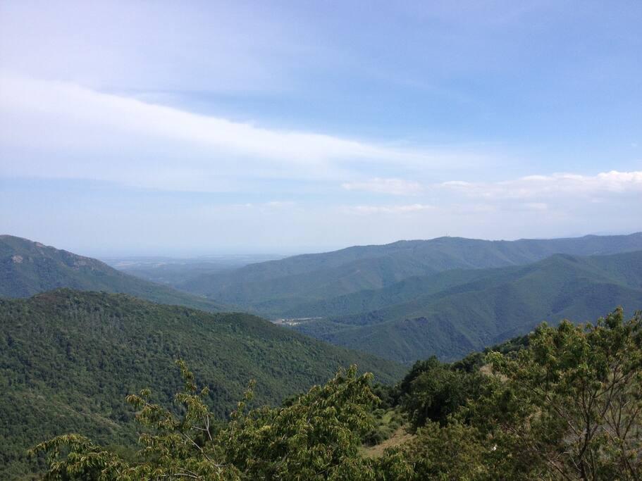 Vue sur la plaine orientale