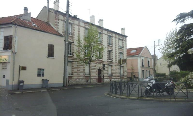Chez Amandine & Marc, agréable F3 idéalement situé - Deuil-la-Barre - Apartamento