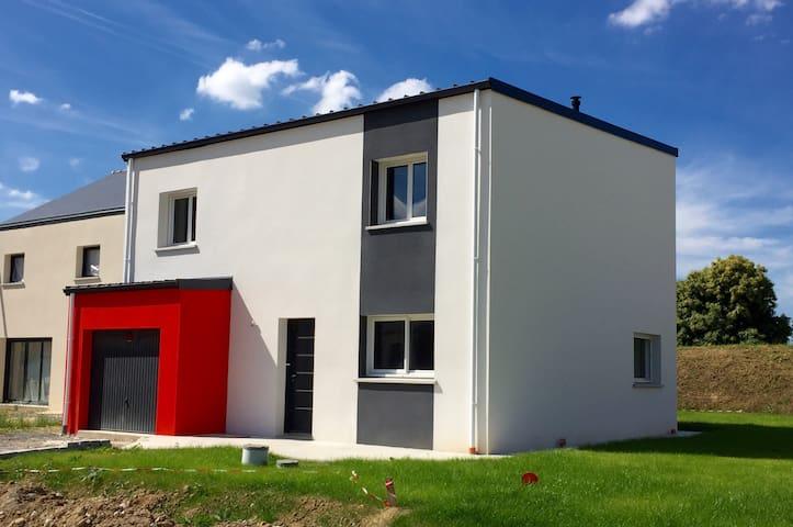 Maison moderne proche Rennes - Domagne  - House