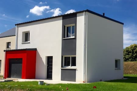 Maison moderne proche Rennes - Domagne  - Casa