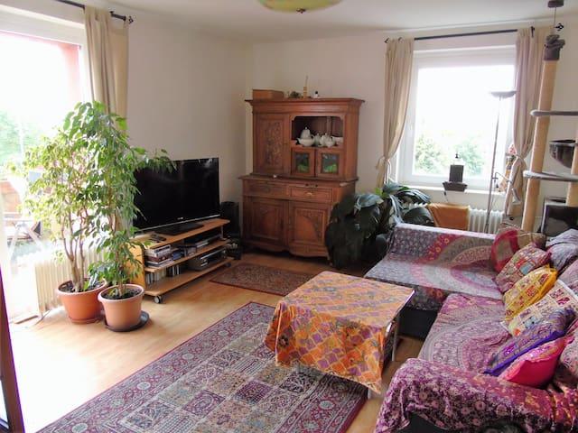 Wohnzimmer mitbenutzbar