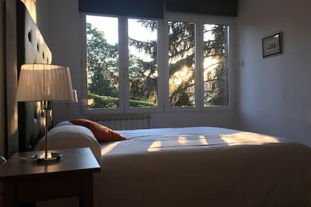 ¡Double bed room with bathroom WIFI+parking!Nº4 - Donostia - Villa