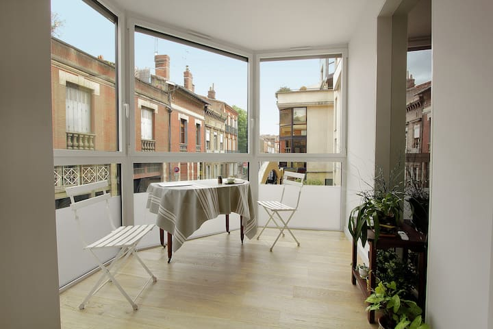City Center Very Quiet + Breakfast + Bike space - Toulouse - Apartment