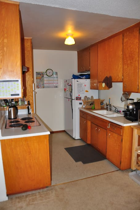 Kitchen, feel free to use anything