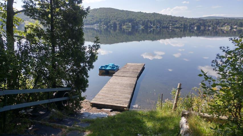 Lakeside Cottage - Eastern Townships -Lake Wallace