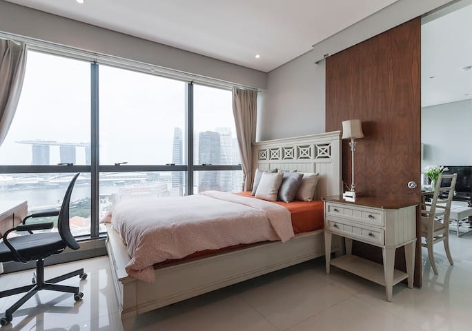 Private Luxury Master bedroom - Singapur - Pis