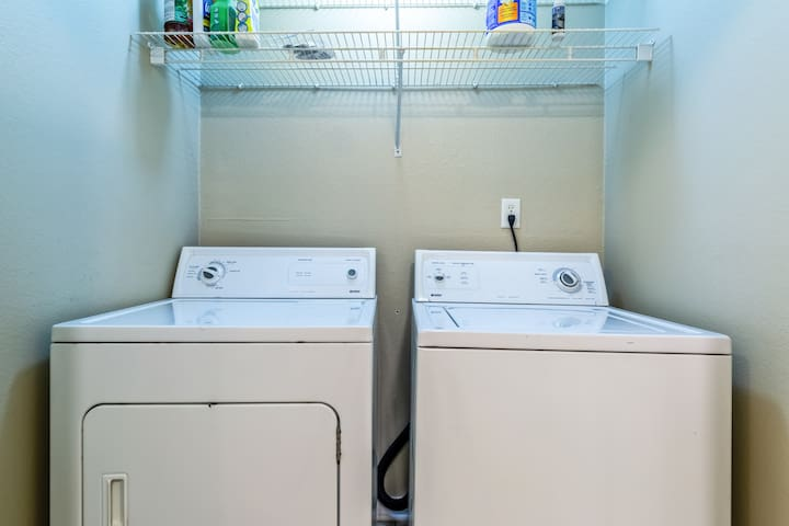 Washer and dryer for your convenience
