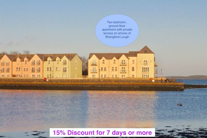 Sea Pigeon - Apartment on the Quay, Killyleagh