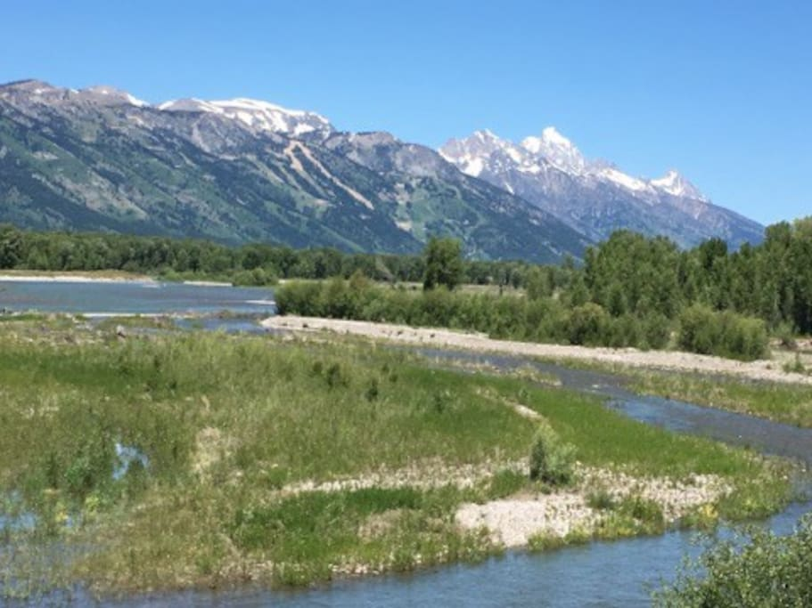 The Setting: World Class Vistas in beautiful Jackson Hole.