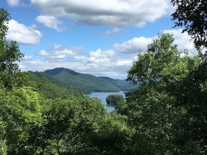 Million Dollar View of Gorgeous Lake Nantahala