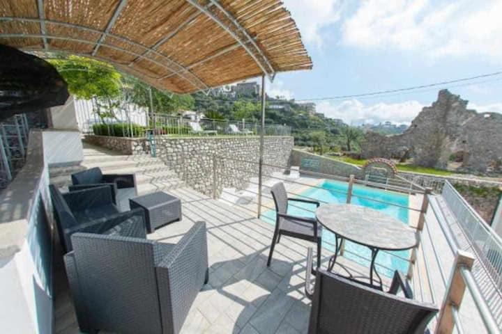 Lo Smeraldo Luxury Home Ravello