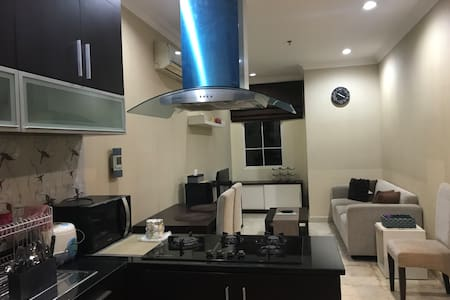 2BR Belleza Suite Apt Sanitized near Jakarta CBD