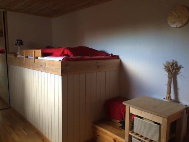 Small room for one or two people - Bærum - Daire