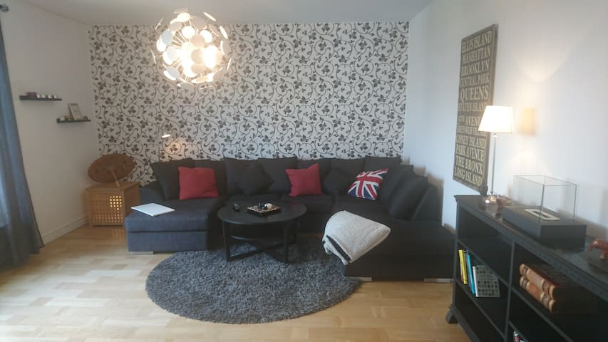 A nice big apartment in Stockholm/Solna