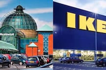 Meadowhall (huge indoor shopping centre) & IKEA Superstore within 15 mins walk