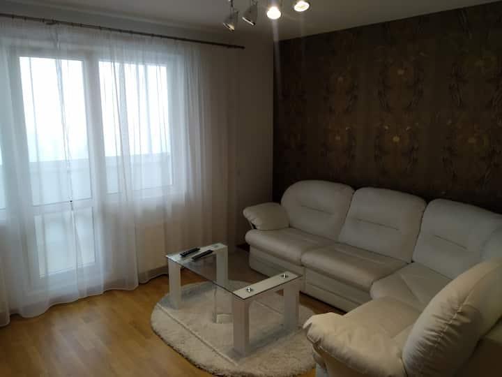 Уютная трехкомнатная квартира с шикарным видом