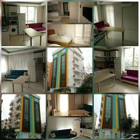 1+1 eşyalı kiralık daire Muratpaşa, Antalya - Antalya  - Appartement