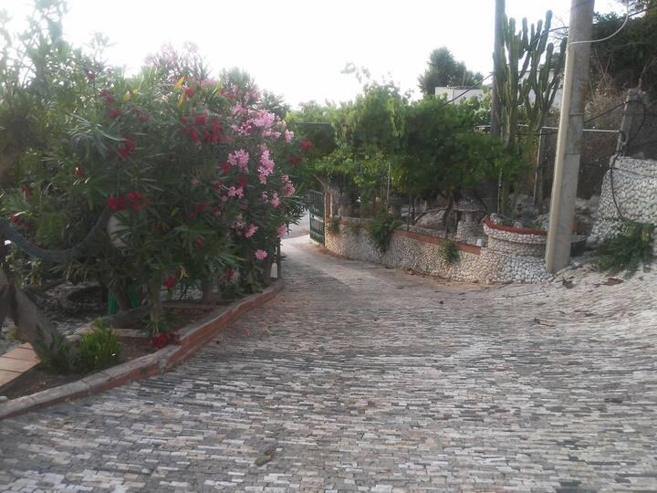 Villa Maria con vista mare