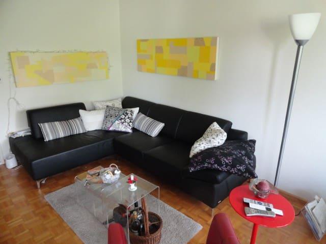 Sonnige, ruhiges Möb.-Zimmer im Grünen - Therwil - Lägenhet