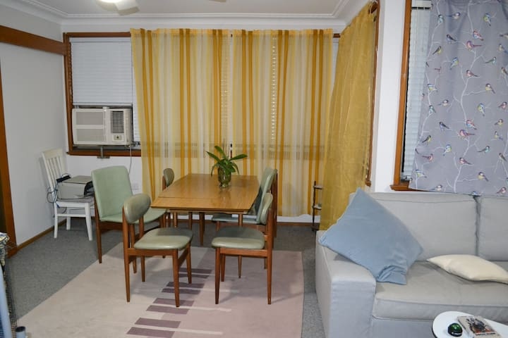 KS private room, friendly house, central location