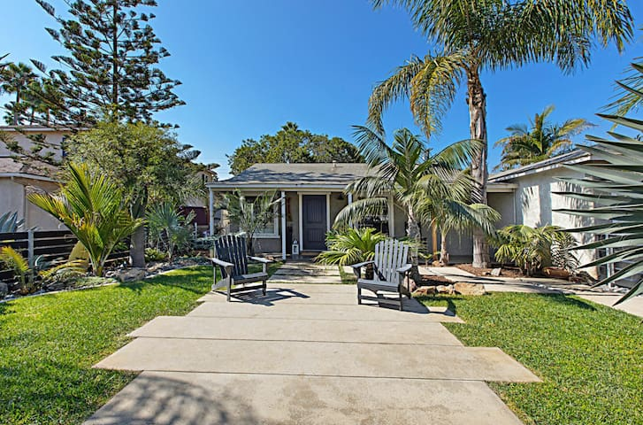 New Listing | The Oceanside Palms Beach Bungalow - Professionally Cleaned