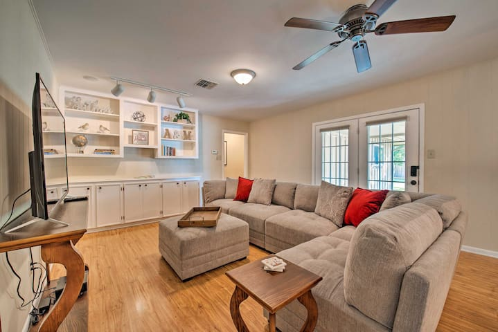 The home is perfect for your group of 8.