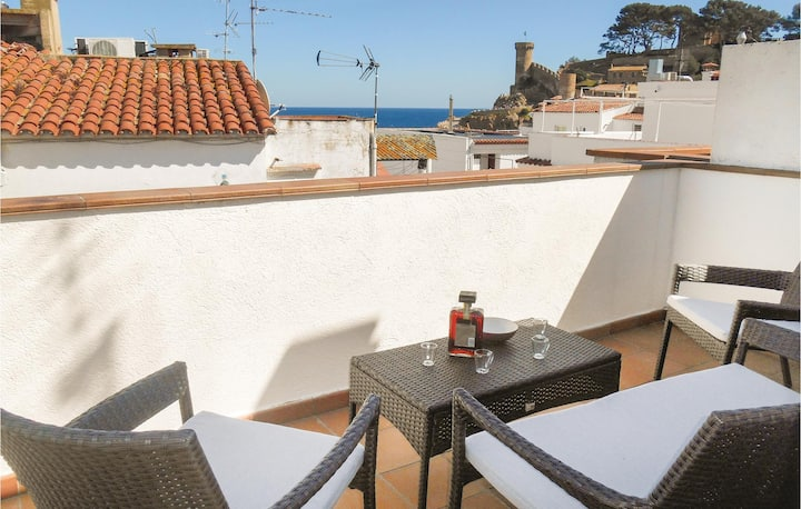 Awesome home in Tossa de Mar with 1 Bedrooms