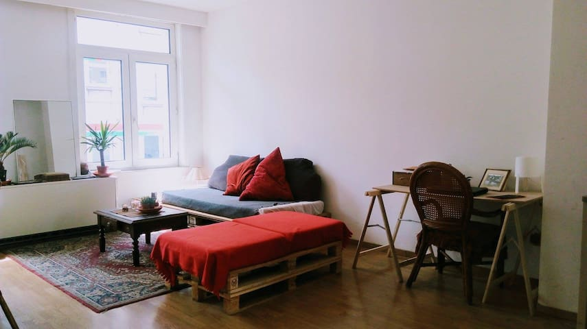 Double room well situated in the heart of Brussels