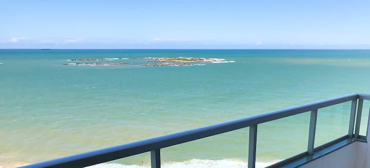 Ouvindo o mar em Itapuã, Vila Velha ES