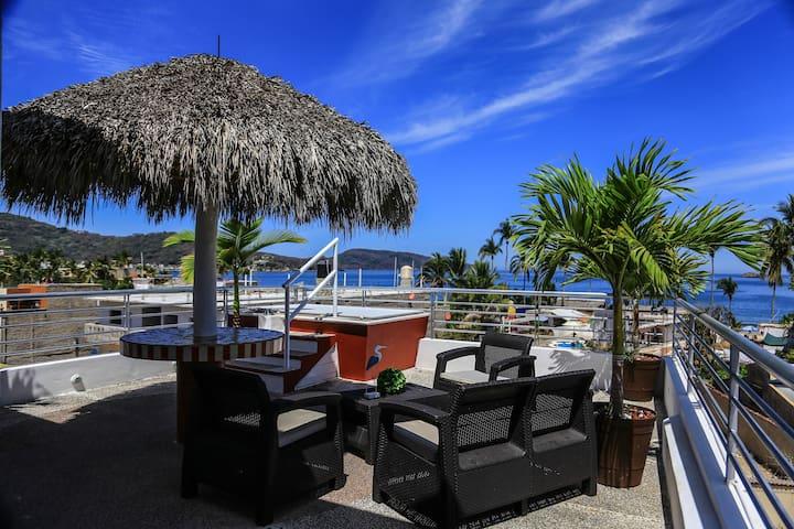 B3 Condominio Vista al Mar en Rincón de Guayabitos