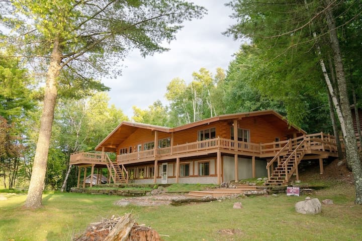 Stunning, Cozy Lake Home with 680 ft of shoreline!