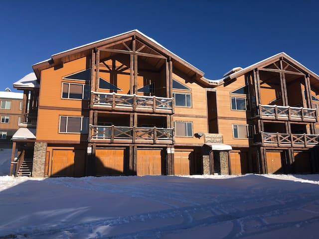 Luxury Ski In / Ski out condo near village