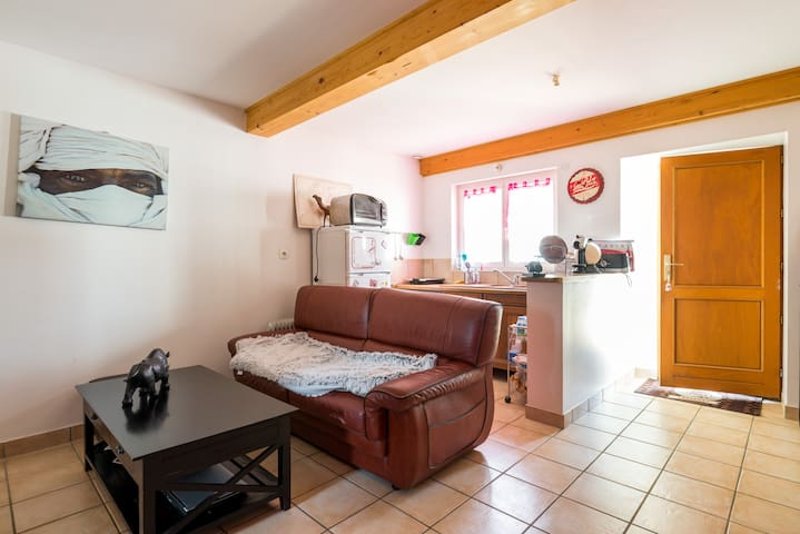 Petit studio cosy - Colombier-Saugnieu - Apartment